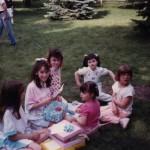 Lynn at a birthday party
